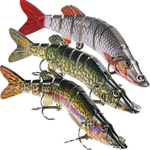 Lixada Multi Jointed Fishing Lures