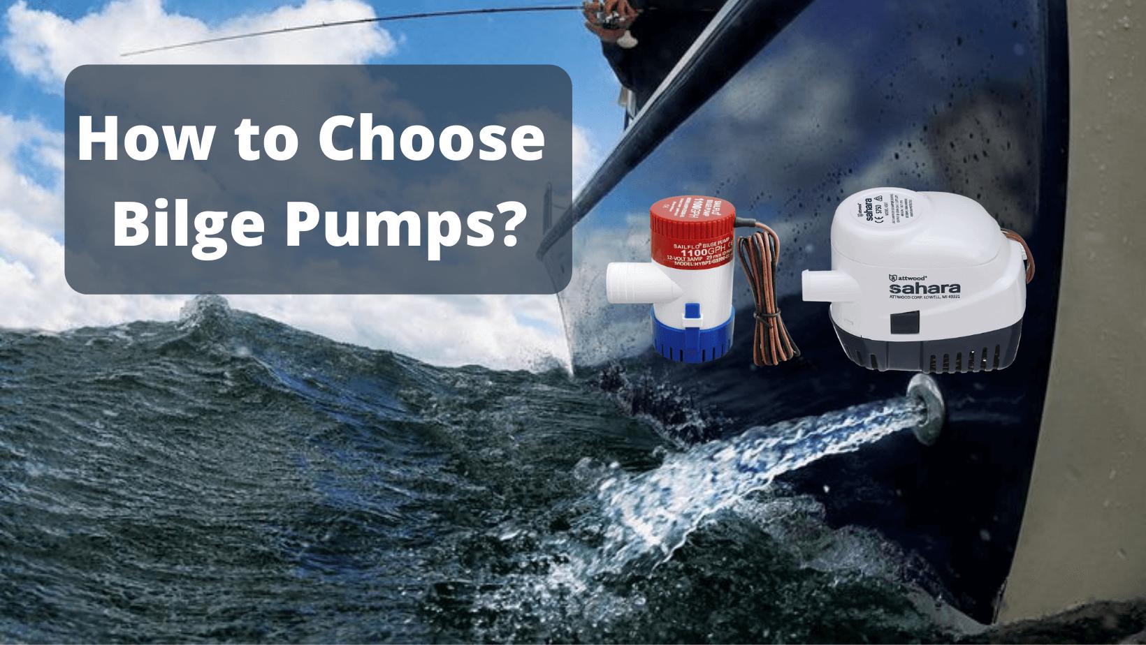 How to Choose Bilge Pumps - banner